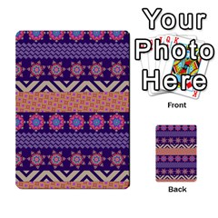 Colorful Winter Pattern Multi Purpose Cards (rectangle)