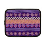 Colorful Winter Pattern Netbook Case (Small)  Front