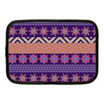 Colorful Winter Pattern Netbook Case (Medium)  Front