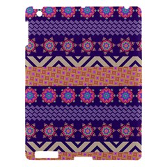 Colorful Winter Pattern Apple Ipad 3/4 Hardshell Case by DanaeStudio