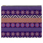 Colorful Winter Pattern Cosmetic Bag (XXXL)  Front