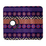 Colorful Winter Pattern Samsung Galaxy S  III Flip 360 Case Front