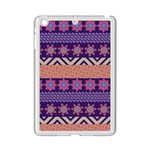 Colorful Winter Pattern iPad Mini 2 Enamel Coated Cases Front