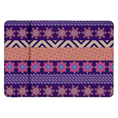 Colorful Winter Pattern Samsung Galaxy Tab 8 9  P7300 Flip Case by DanaeStudio