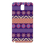 Colorful Winter Pattern Samsung Galaxy Note 3 N9005 Hardshell Back Case Front