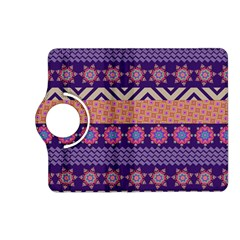 Colorful Winter Pattern Kindle Fire Hd (2013) Flip 360 Case