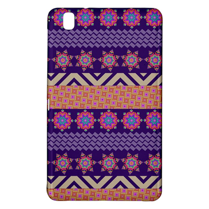 Colorful Winter Pattern Samsung Galaxy Tab Pro 8.4 Hardshell Case
