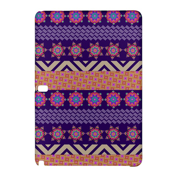 Colorful Winter Pattern Samsung Galaxy Tab Pro 12.2 Hardshell Case
