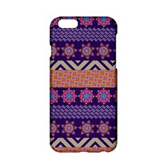 Colorful Winter Pattern Apple Iphone 6/6s Hardshell Case by DanaeStudio