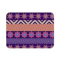 Colorful Winter Pattern Double Sided Flano Blanket (mini)  by DanaeStudio