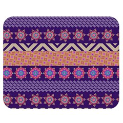 Colorful Winter Pattern Double Sided Flano Blanket (medium)  by DanaeStudio