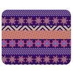 Colorful Winter Pattern Double Sided Flano Blanket (Medium)  60 x50 Blanket Front