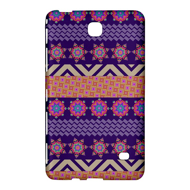 Colorful Winter Pattern Samsung Galaxy Tab 4 (7 ) Hardshell Case
