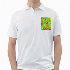 Happy Multicolor Painting Golf Shirts by designworld65