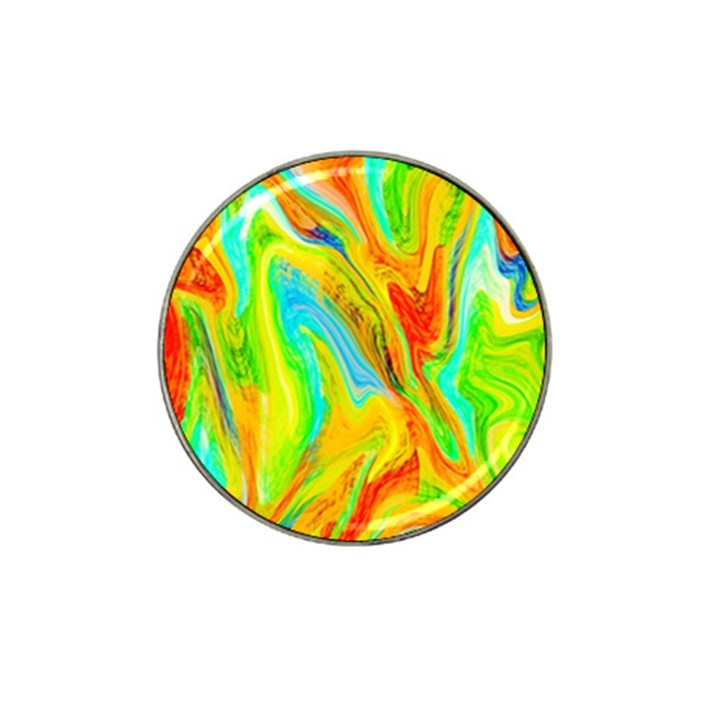 Happy Multicolor Painting Hat Clip Ball Marker