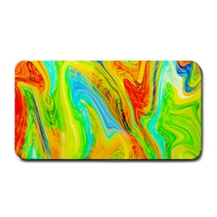 Happy Multicolor Painting Medium Bar Mats by designworld65