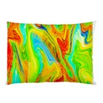 Happy Multicolor Painting Pillow Case