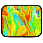 Happy Multicolor Painting Netbook Case (XL)