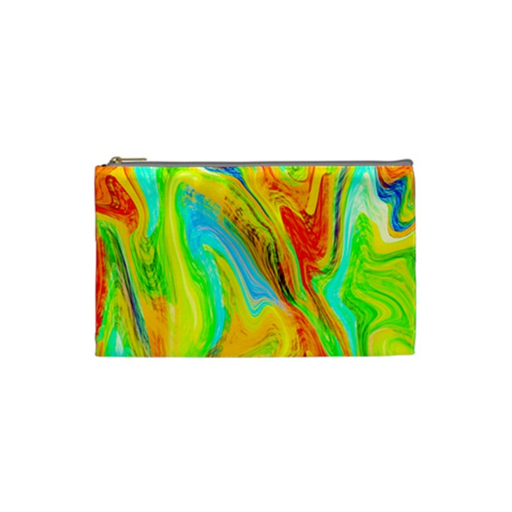 Happy Multicolor Painting Cosmetic Bag (Small)