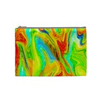 Happy Multicolor Painting Cosmetic Bag (Medium)