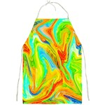 Happy Multicolor Painting Full Print Aprons