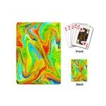 Happy Multicolor Painting Playing Cards (Mini)