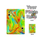 Happy Multicolor Painting Playing Cards 54 (Mini)
