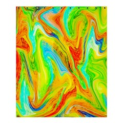 Happy Multicolor Painting Shower Curtain 60  X 72  (medium)  by designworld65