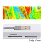 Happy Multicolor Painting Memory Card Reader (Stick)