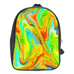 Happy Multicolor Painting School Bags (XL)