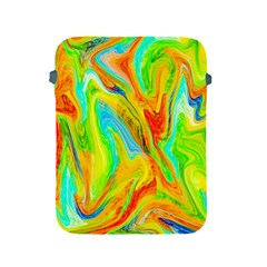 Happy Multicolor Painting Apple Ipad 2/3/4 Protective Soft Cases by designworld65
