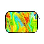 Happy Multicolor Painting Apple iPad Mini Zipper Cases