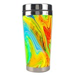 Happy Multicolor Painting Stainless Steel Travel Tumblers Center