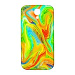 Happy Multicolor Painting Samsung Galaxy S4 I9500/I9505  Hardshell Back Case