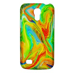 Happy Multicolor Painting Galaxy S4 Mini by designworld65