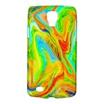 Happy Multicolor Painting Galaxy S4 Active