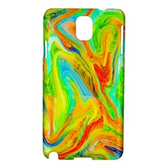 Happy Multicolor Painting Samsung Galaxy Note 3 N9005 Hardshell Case