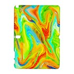 Happy Multicolor Painting Samsung Galaxy Note 10.1 (P600) Hardshell Case