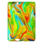 Happy Multicolor Painting Kindle Fire HDX Hardshell Case