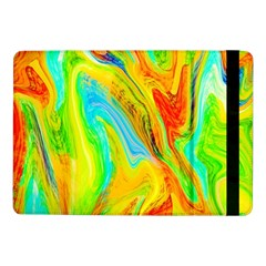 Happy Multicolor Painting Samsung Galaxy Tab Pro 10 1  Flip Case by designworld65