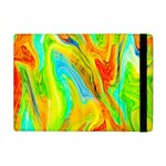 Happy Multicolor Painting iPad Mini 2 Flip Cases