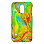Happy Multicolor Painting Galaxy S5 Mini