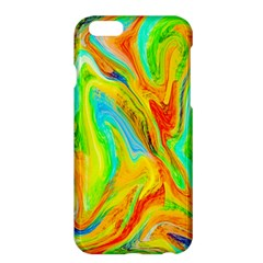 Happy Multicolor Painting Apple Iphone 6 Plus/6s Plus Hardshell Case by designworld65