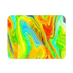 Happy Multicolor Painting Double Sided Flano Blanket (mini)
