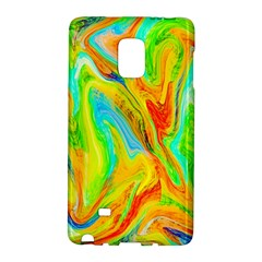 Happy Multicolor Painting Galaxy Note Edge by designworld65
