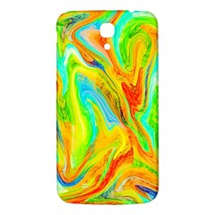 Happy Multicolor Painting Samsung Galaxy Mega I9200 Hardshell Back Case by designworld65