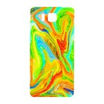 Happy Multicolor Painting Samsung Galaxy Alpha Hardshell Back Case