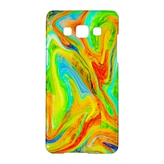 Happy Multicolor Painting Samsung Galaxy A5 Hardshell Case