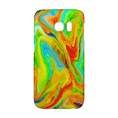 Happy Multicolor Painting Galaxy S6 Edge