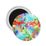 Colorful Mosaic  2.25  Magnets Front